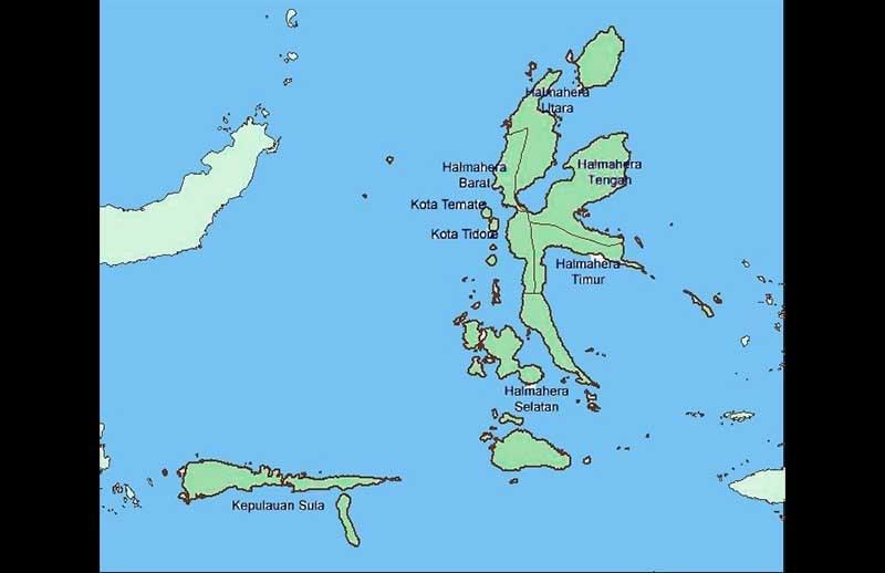 Ratusan Pulau di Maluku Tak Bernama
