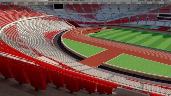 Stadion GBK Rusak, Panitia Piala Presiden Tanggungjawab