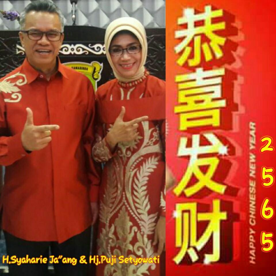 Hadiri Imlek Warga Tionghoa, Syaharie Jaang Dinilai Figur Perekat Keberagaman Semua Etnis
