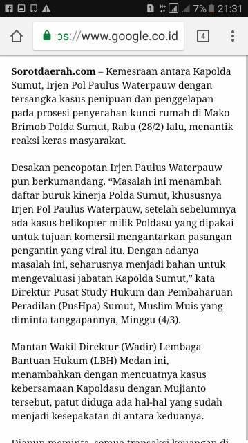 Diduga Sebarkan Berita Hoax, Poldasu Tangkap Pemilik Media Online Sorotdaerah.com