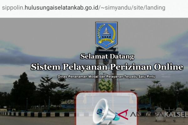 Pemkab HSS Terapkan 25 Jenis Izin Online
