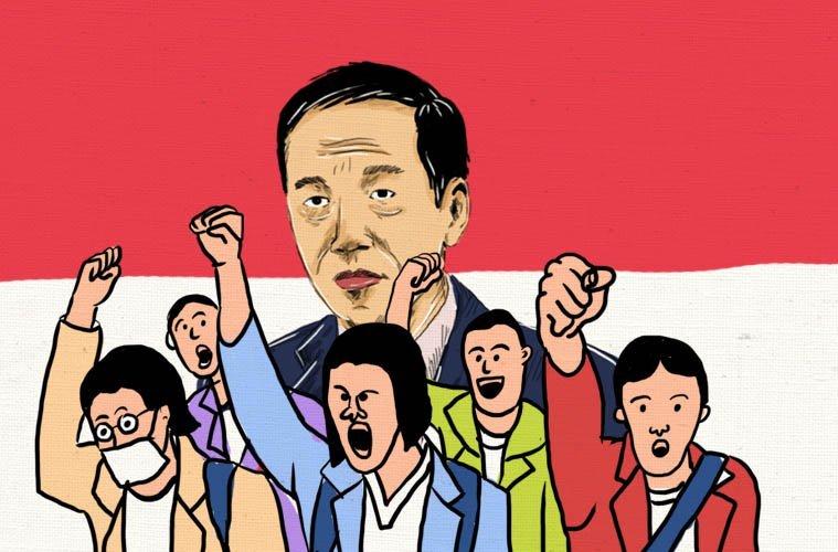 Sederet Aturan Mengantre di Meja Jokowi