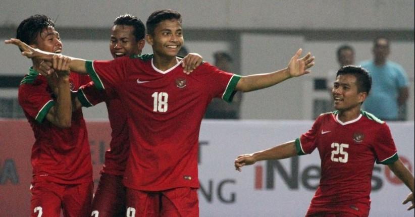 Timnas U-16 Melaju ke Semifinal Setelah Melibas Kamboja 5-0