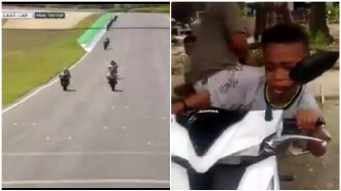 Keren! Lihat Aksi Bocah Asal NTT Ini Saat Menirukan Komentator MotoGP