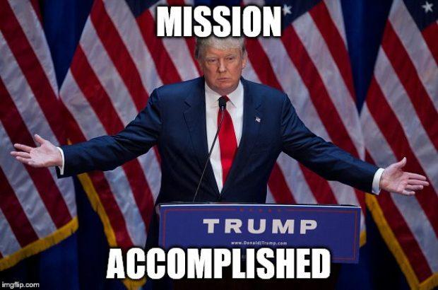 """Trump Bilang """"Misi (Serangan di Suriah) Selesai"""", Apa Maksudnya?"""