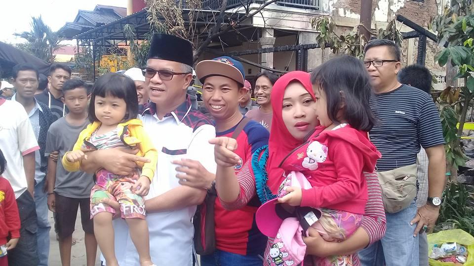 Jelang Pilgub, Jaang Minta Musibah Kebakaran Jangan Dipolitisir