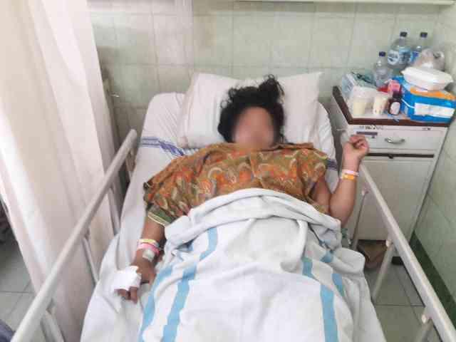 Pura-Pura Tewas, Cara  Wanita Hamil Muda Korban Penusukan Lolos dari Maut