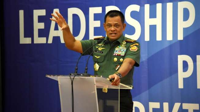 Ditawari Gabung Gerindra, Jenderal Gatot Bilang Ini ke Prabowo
