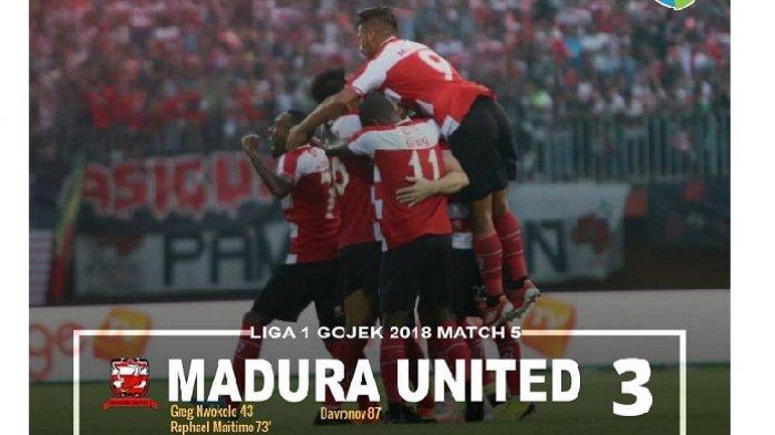 Cuplikan Gol : Madura United 3–2 Arema FC