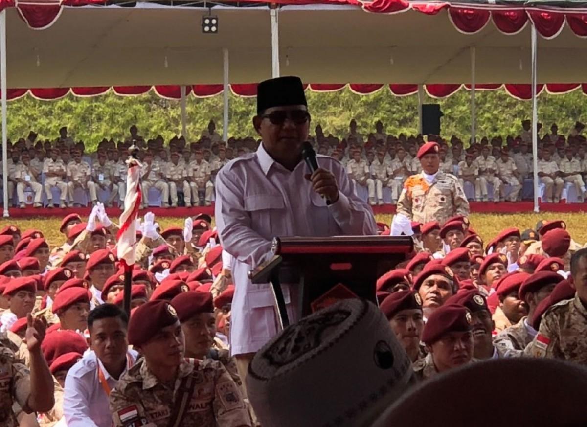 Prabowo: Bismillah, Saya Siap Jadi Capres