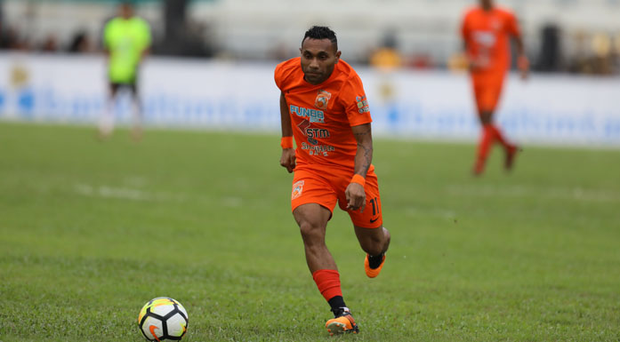 Penyerang Borneo FC, Titus Bonai Kena Denda Rp 50 Juta dan Tidak Boleh Main 4 Pertandingan
