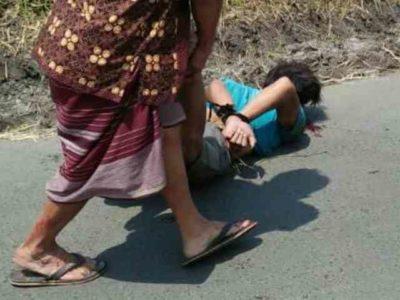 Video Maling Motor Babak Belur Diamuk Warga di Pasuruan