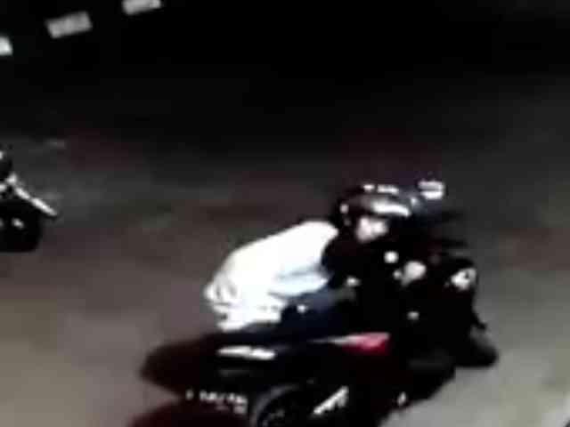 Video Aksi Maling Motor di Kantor Bappeda Indramayu