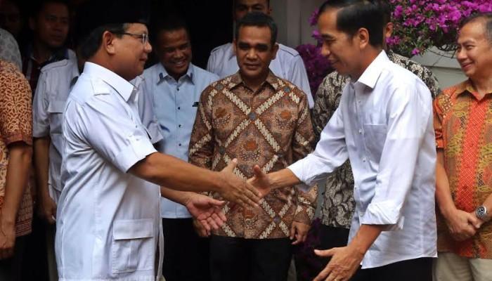 Kali ini Jokowi Harus Mengakui Prabowo Unggul