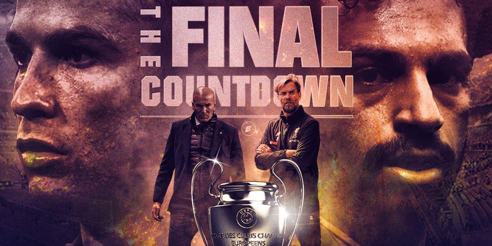 Prediksi Real Madrid vs Liverpool Dini Hari Ini 27 Mei 2018