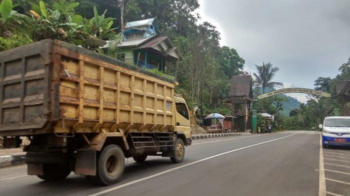 Jalur Mudik Idul Fitri 2018 Kalsel-Kaltim, Perbaikan Jalan Tabalong Ditargetkan Selesai H-3 Lebaran