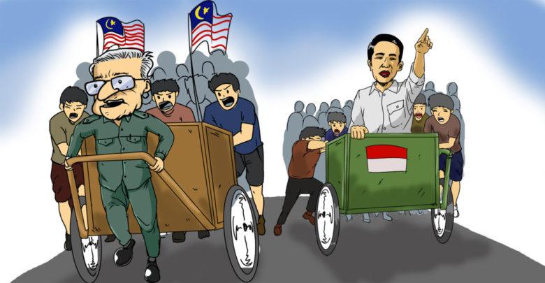 Beda Mahathir dengan Jokowi