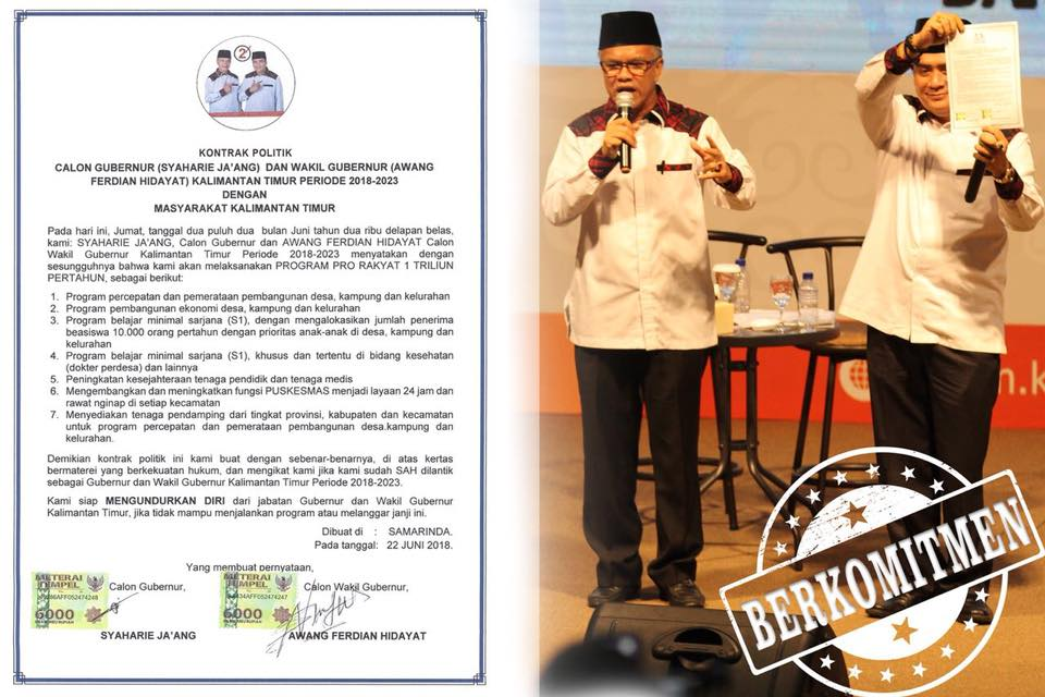 Perolehan suara Pilgub 2018 Samarinda di Sungai Pinang