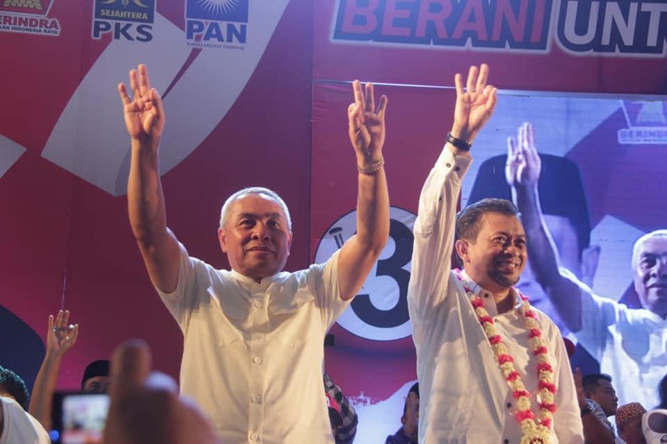 Di PPU,  Isran-Hadi Unggul Tipis dari Sofyan-Rizal
