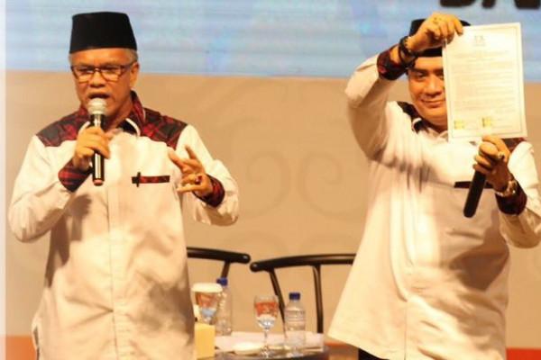 Teken Kontrak Politik, Paslon Gubernur-Wagub Kaltim ini Siap mengundurkan Diri