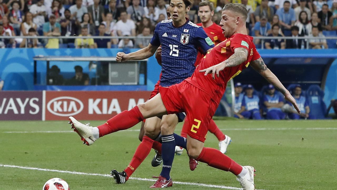 Video  Cuplikan Gol Belgia vs Jepang, 16 Besar Piala Dunia 2018