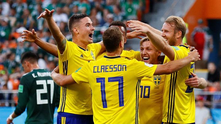 Video Swedia vs Swiss, Skor Akhir 1-0