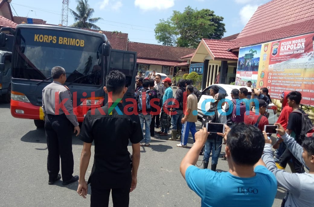 150 Wakar Diamankan, Polisi Antisipasi Bentrok Massa Dilahan Sengketa