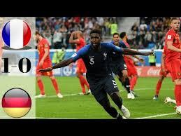 Video Highlights Perancis Vs Belgia (1-0) Hasil Pertandingan Semi Final Piala Dunia 2018