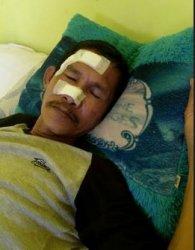 Ditegur Pakai Sepatu, Kabag Humas Protokol Batola Tinju Muha Kai Penjaga Kubah Datuk H Abdussamad