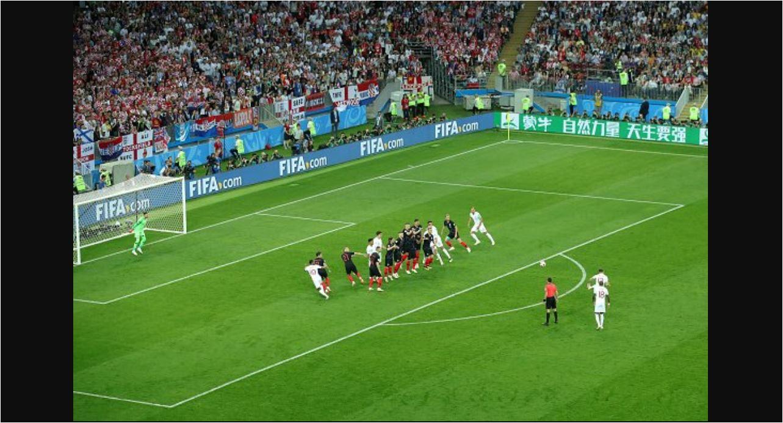 Video Highlights Cuplikan Gol Kroasia vs Inggris di Piala Dunia 2018