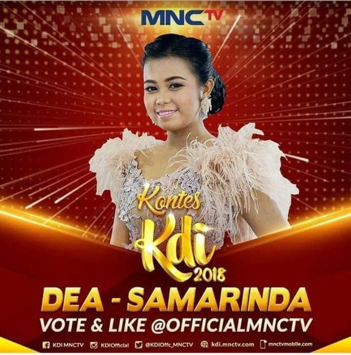 "Dea dari Samarinda Lolos 9 Besar KDI 2018 : ""Terima Kasih atas Dukungannya …"""