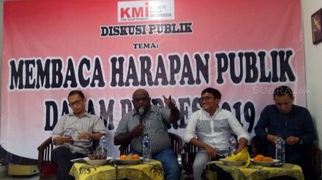 Natalius Pigai : Jokowi Pilih Ma'ruf Amin, Pendukung Ahok Kecewa