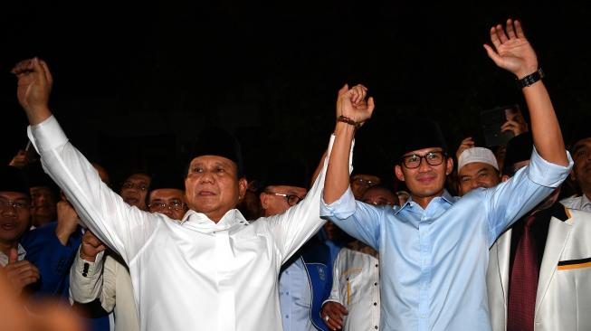 Senin Tes Kesehatan, Prabowo – Sandiaga Uno Pede Lulus