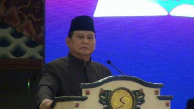 Prabowo: Aksi Tolak Gerakan #2019GantiPresiden Pelanggaran UUD