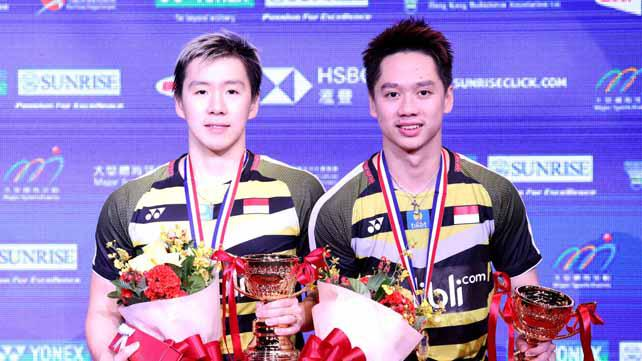 Juara Hong Kong Terbuka, Kevin/Marcus Raih Gelar Kesembilan