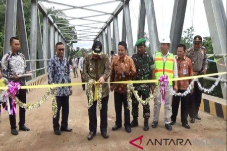Setelah 3 Tahun Proyek Jembatan di Paser Selesai