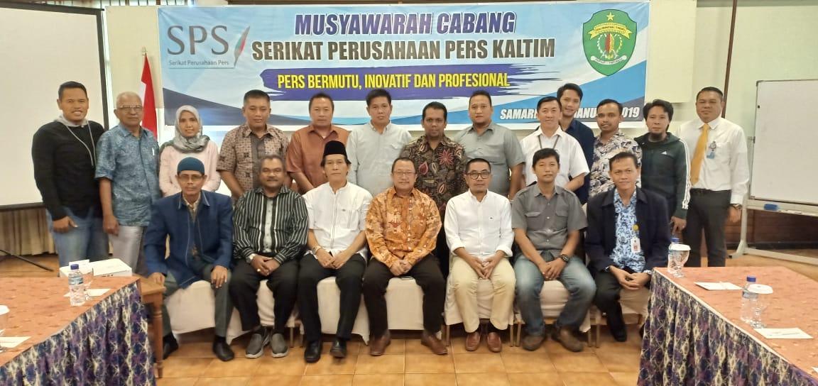Zainal Muttaqin Terpilih Aklamasi sebagai Ketua SPS Kaltim