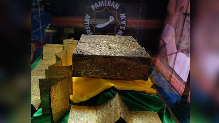 40 Artefak Milik Nabi Muhammad SAW Dipamerkan di Medan