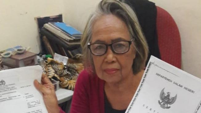 Jadi Tersangka Karena Merenovasi Bangunan, Perempuan 74 Tahun Kirim Surat Untuk Jokowi dan Kapolri