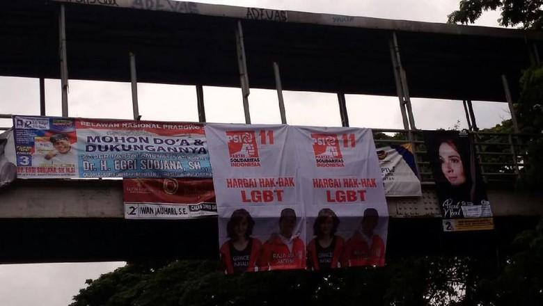 PSI : Spanduk 'Hargai Hak LGBT' Bukan Buatan Kami