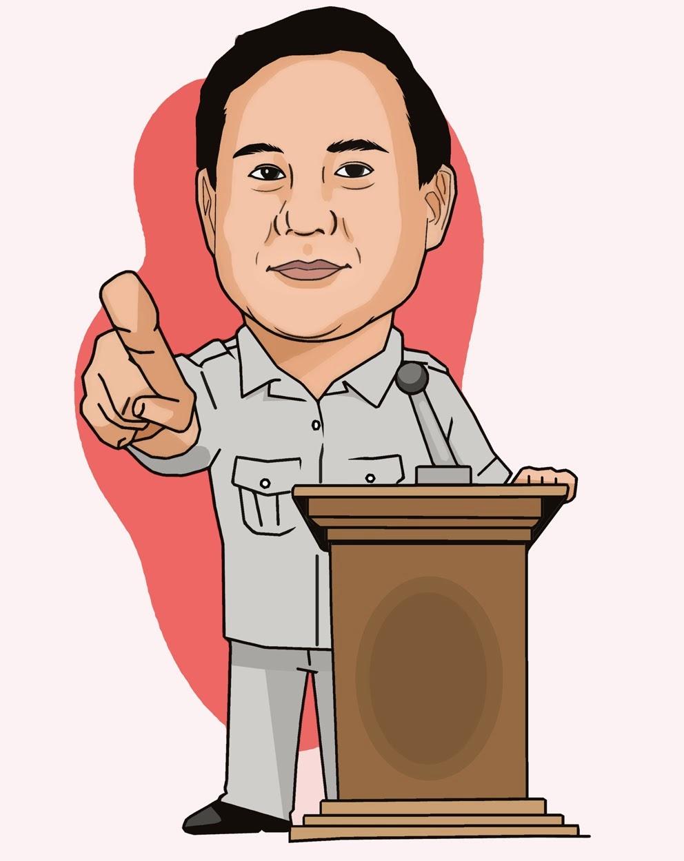 """Gaya Prabowo """"Mengolok Olok"""" Joko Widodo"""