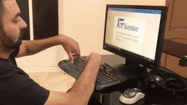 """Naveed Iqbal, Pria Lumpuh yang Terbitkan Aplikasi """"Mecca Guide"""""""