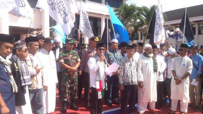 Sambut Massa Aksi Bela Muslim Uighur, Wawali Balikpapan Berterima Kasih