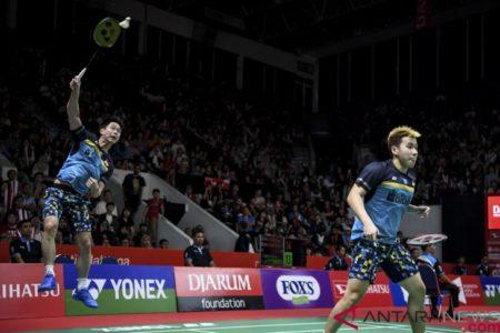 Marcus/Kevin melaju ke semifinal Daihatsu Indonesia Masters 2019