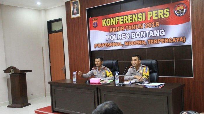 Polisi Petakan Tren Kasus di Bontang, Ini Lima Kasus Tertinggi yang Terjadi 2 Tahun Terakhir