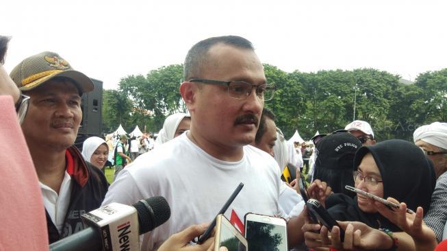BPN: Jokowi Terlihat Khusyuk Saat Mbah Moen Doakan Prabowo