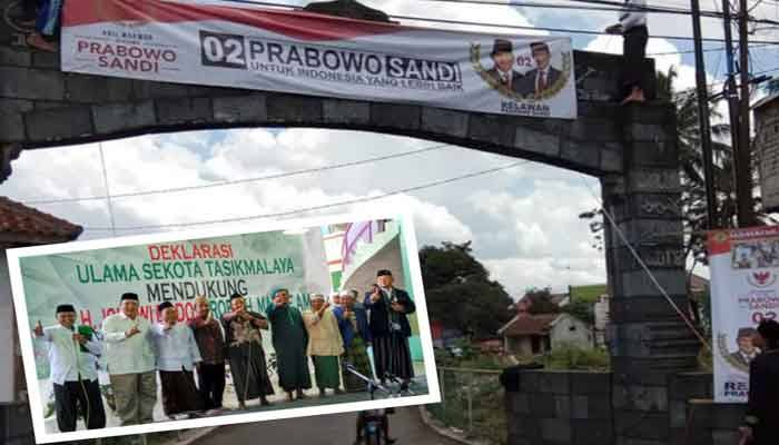 Merasa Dibohongi Usai Deklarasi Jokowi-Ma'ruf Pesantren di Tasikmalaya Balik Dukung Prabowo-Sandi