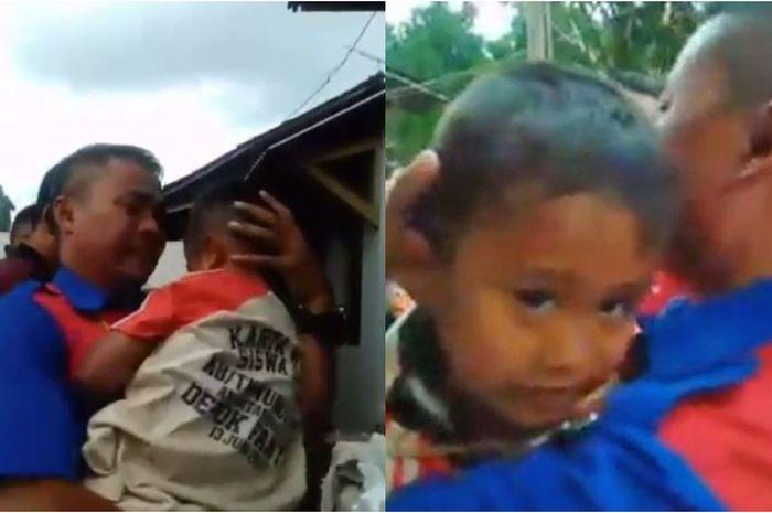 Sedih Dapati Ibunya Meninggal di Dalam Bus, Anak Nurhayati Menangis di Pelukan Sopir: Kenapa Mamah Tidur Terus?