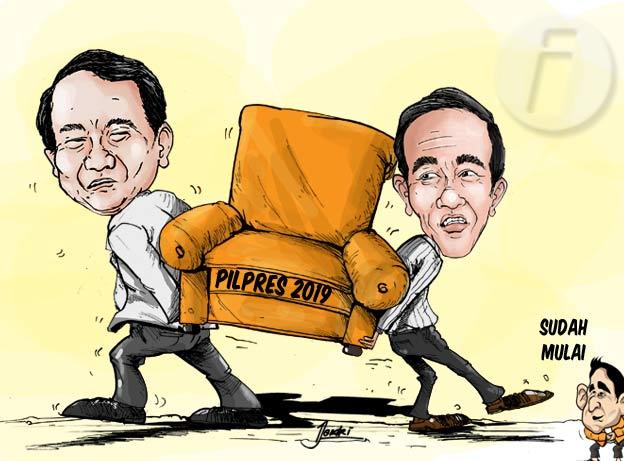 Indomatrik: Selisih Elektabilitas Prabowo dan Jokowi 3,93 Persen