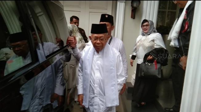 Tim Prabowo Sepakat Ucapan Maruf Amin Soal Penyebar Hoaks Pantas Masuk Neraka